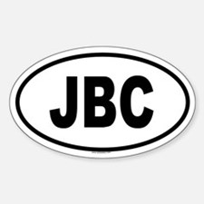 JBC Oval Decal