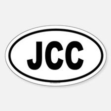 JCC Oval Bumper Stickers