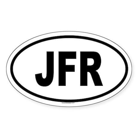 JFR Oval Sticker