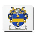 Fergus Family Crest Mousepad