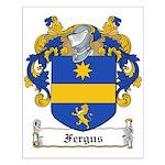 Fergus Family Crest Small Poster