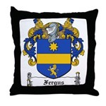 Fergus Family Crest Throw Pillow