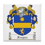 Fergus Family Crest Tile Coaster