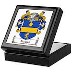 Fergus Family Crest Keepsake Box