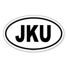JKU Oval Decal