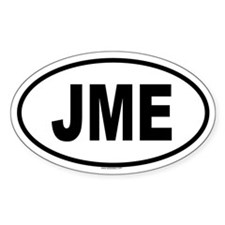 JME Oval Decal