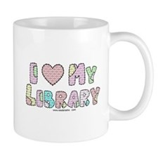 I (heart) My Library Mug