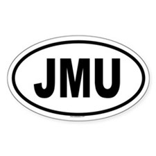 JMU Oval Decal