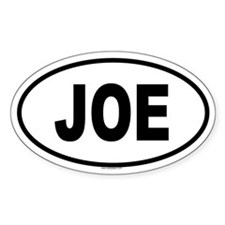 JOE Oval Decal