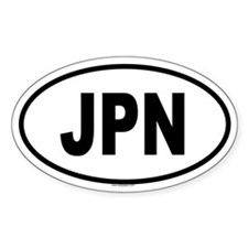 JPN Oval Decal