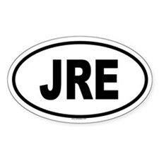 JRE Oval Decal