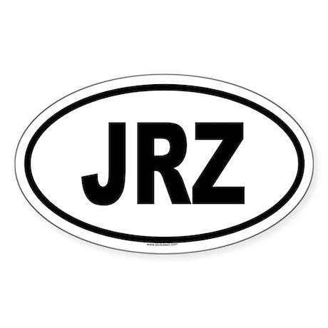 JRZ Oval Sticker