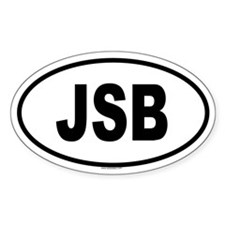 JSB Oval Decal