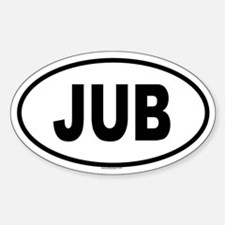 JUB Oval Decal