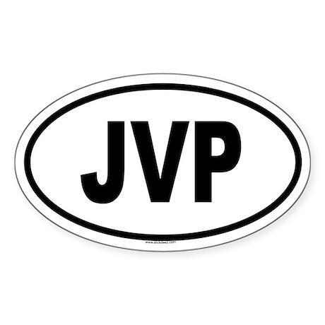 JVP Oval Sticker
