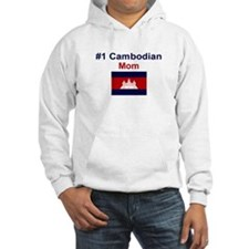 #1 Cambodian Mom Hoodie