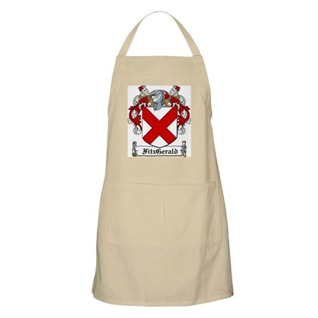 FitzGerald Family Crest BBQ Apron