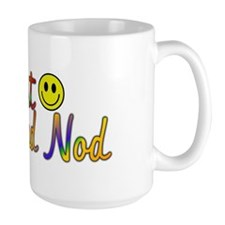 Smile And Nod Ceramic Mugs