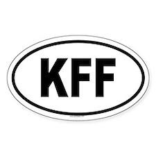 KFF Oval Decal