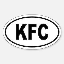KFC Oval Decal
