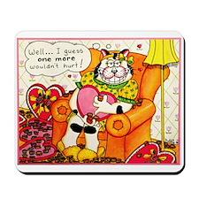 Kitty Cat Love Mousepad