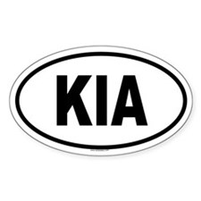 KIA Oval Decal