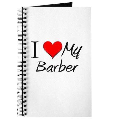 I Heart My Barber Journal