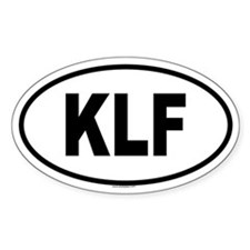 KLF Oval Decal