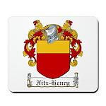 Fitz-Henry Family Crest Mousepad