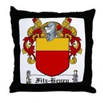 Fitz-Henry Family Crest Throw Pillow