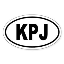 KPJ Oval Decal