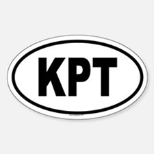 KPT Oval Decal