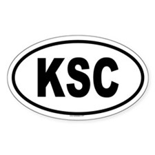 KSC Oval Decal