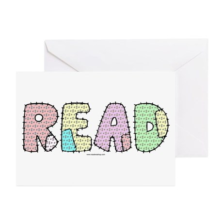 Read Patchwork Greeting Cards (Pk of 10)