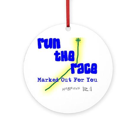Run The Race Keepsake (Round)