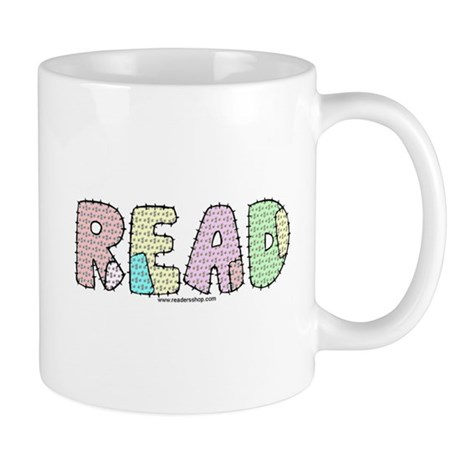Read Patchwork Mug