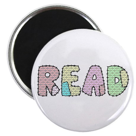"""Read Patchwork 2.25"""" Magnet (10 pack)"""
