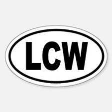 LCW Oval Decal