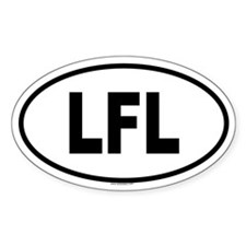 LFL Oval Decal