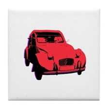 Citroen 2CV Tile Coaster