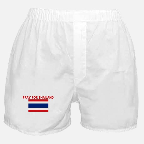 PRAY FOR THAILAND Boxer Shorts