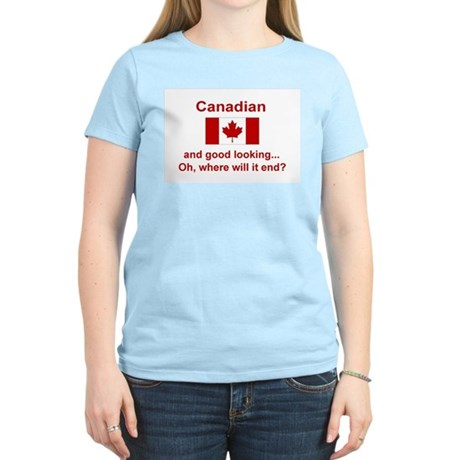 Gd Lkg Canadian Women's Light T-Shirt