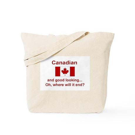 Gd Lkg Canadian Tote Bag