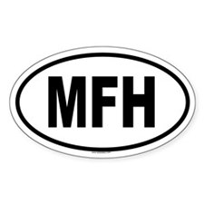 MFH Oval Decal