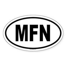 MFN Oval Decal