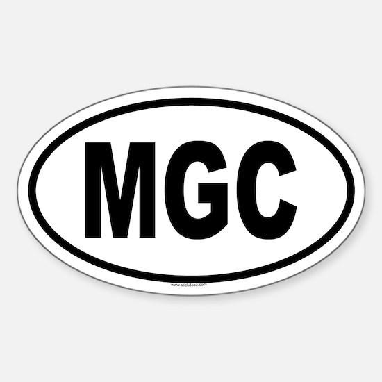 MGC Oval Decal