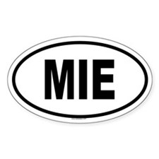 MIE Oval Decal