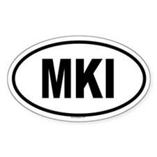 MKI Oval Decal
