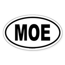 MOE Oval Decal