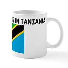 HALF MY HEART IS IN TANZANIA Mug
